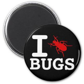 Insectos del corazón I Imán Redondo 5 Cm