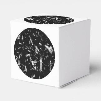 Insectos en negro cajas para regalos de boda