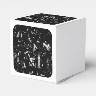 Insectos en negro cajas para regalos de fiestas
