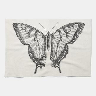 Insectos personalizados mariposa de las mariposas toalla de mano