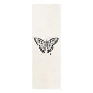 Insectos personalizados mariposa de las mariposas tarjetas de visita mini