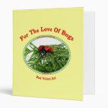 Insectos rojos del amor de la hormiga del terciope
