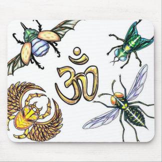 Insectos sagrados Mousepad Tapete De Raton