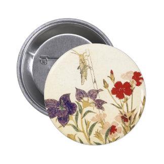 Insectos y flores por Utamaro Pins