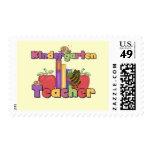 Insectos y maestro de jardín de infancia de las sello