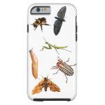 Insectos, y una barra funda de iPhone 6 tough