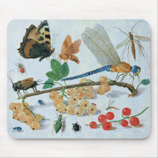 Insects and Berries Mousemats