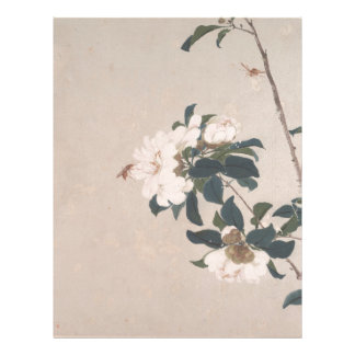 Insects and Flowers - China Letterhead