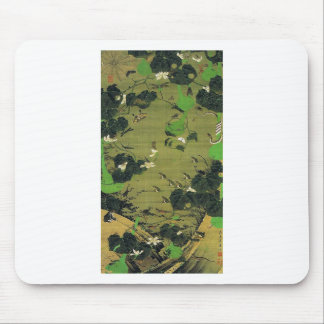 Insects by Pond Side by Ito Jakuchu Mouse Pad