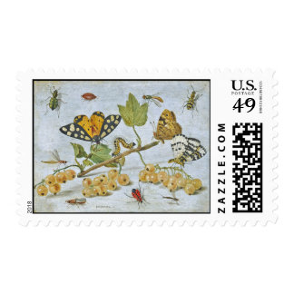 Insects Crawling Stamp