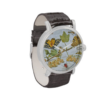 Insects Crawling Wrist Watches