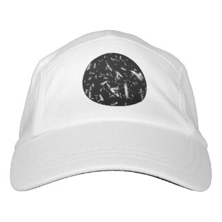 Insects on black headsweats hat