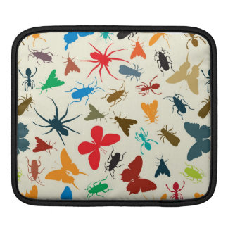 Insects pattern iPad sleeve
