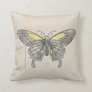 Insects Series- Dragonfly + Butterfly 2 for 1 Throw Pillows