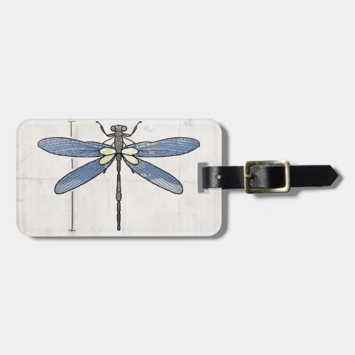 Insects Series- Dragonfly by VOL25 Bag Tags
