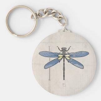 Insects Series- Dragonfly by VOL25 Keychain