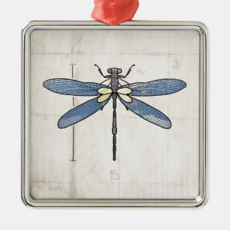 Insects Series- Dragonfly by VOL25 Metal Ornament