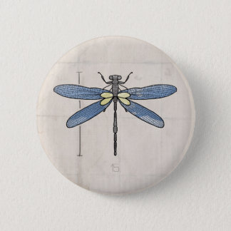 Insects Series- Dragonfly by VOL25 Pinback Button