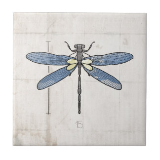 Insects Series- Dragonfly by VOL25 Tile