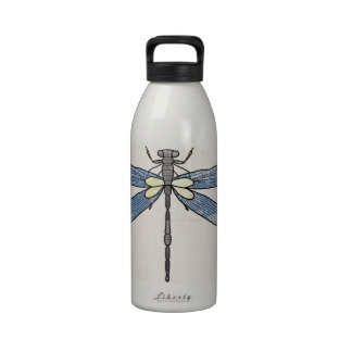 Insects Series- Dragonfly by VOL25 Drinking Bottles