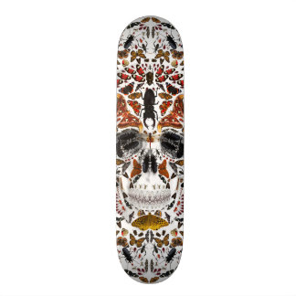 INSECTS SKULL SKATEBOARD