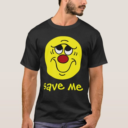 Insecure Smiley Face Grumpey T-Shirt