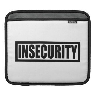 Insecurity Security Guard Sleeve For iPads