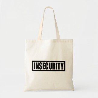 Insecurity Security Guard Tote Bag