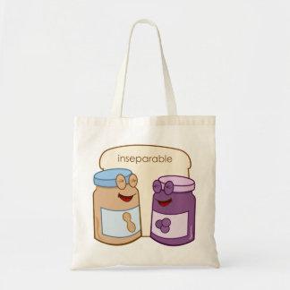 Inseparable Budget Tote Bag