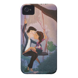 Inseparable iPhone 4 Protectores