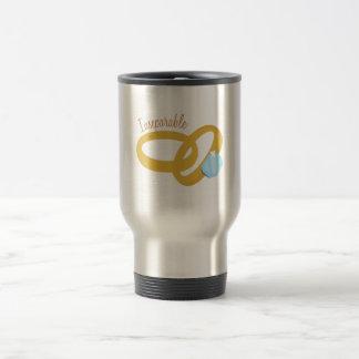 Inseparable 15 Oz Stainless Steel Travel Mug