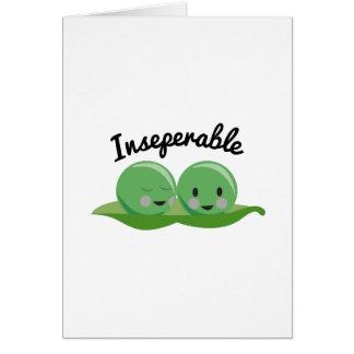 Inseperable Tarjeta