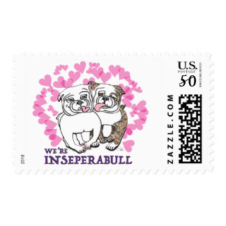 Inseperabull Postage Stamps