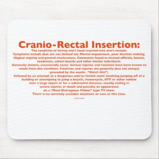 Inserción Cranio-Rectal Mousepad Alfombrillas De Ratón