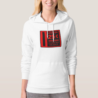 Insert Coin To Play Arcade Video Game Hooded Sweatshirt