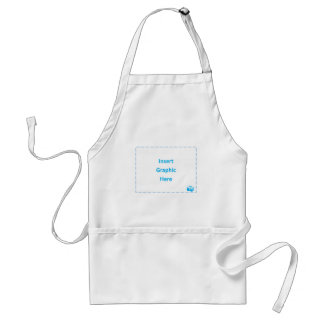 Insert Graphic Here Adult Apron