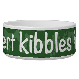 Insert Kibbles Here Bowl