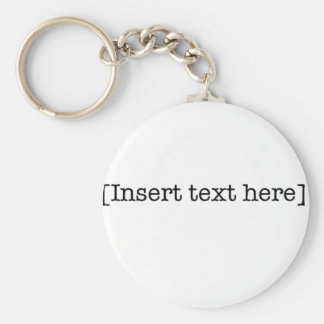 insert text here key chains