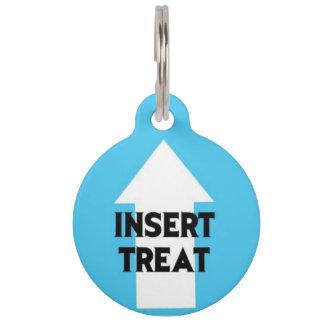 Insert Treat Pet ID Tag