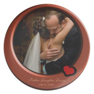 Insert Wedding Photo, Beveled Look Frame Plate