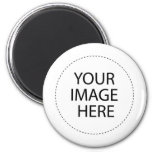 INSERT YOUR OWN DESIGN OR PHOTO 2 INCH ROUND MAGNET