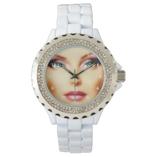 Insert Your Own Image Elegant Wristwatch