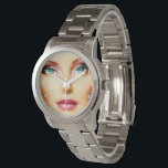 "Insert Your Own Image Unisex DIY Silver Bracelet Wristwatch<br><div class=""desc"">Looking for a personal gift that you can add your own image to? Here is a beautiful Silver Bracelet watch that you can insert your own photo into to make it special. You can also delete the numbers face if you wish when you choose to customize. If you like the...</div>"
