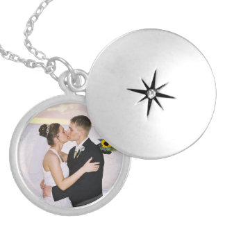 Insert your own photo_Necklace Round Locket Necklace