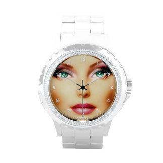 Inserte su propia imagen DIY fresco Relojes De Mano