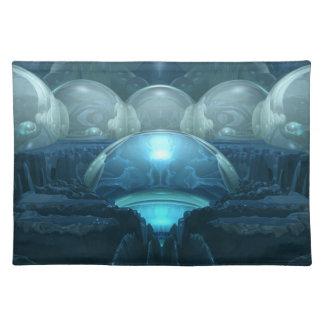 Inside A Blue Moon Placemats