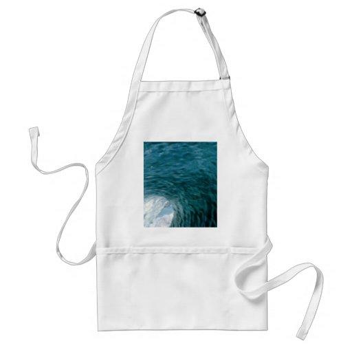 Inside a breaking wave adult apron