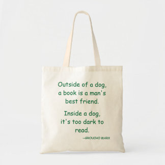 Inside a dog ... Groucho Marx Tote Bag