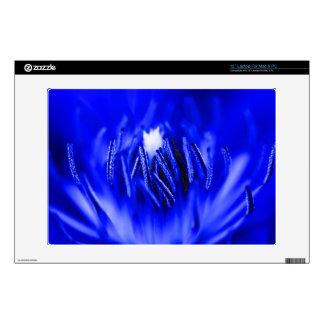 Inside A Flower Blue Laptop Decals