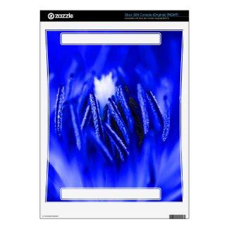 Inside A Flower Blue